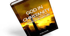 God in Christanity What is His nature