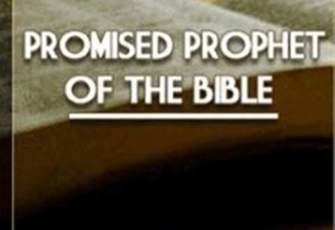 Promised Prophet of the Bibile